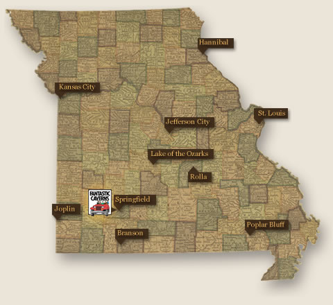 Missouri Has Preserved Over State Parks And Historic Sites That - Map of missouri state